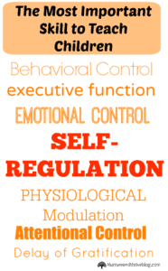 Teaching children how to self-regulate- 5 great tips!
