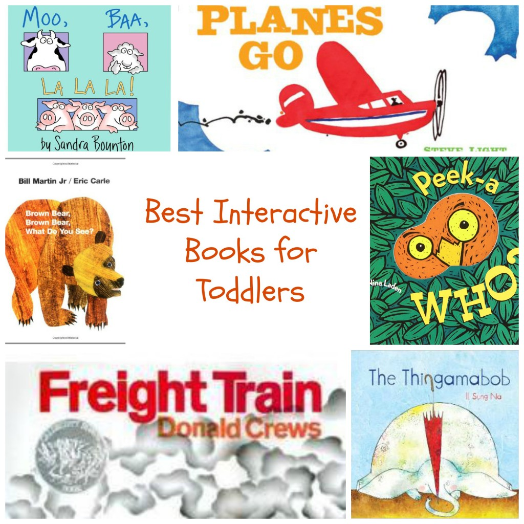 Best Interactive Books Toddlers Nurture and Thrive Blog
