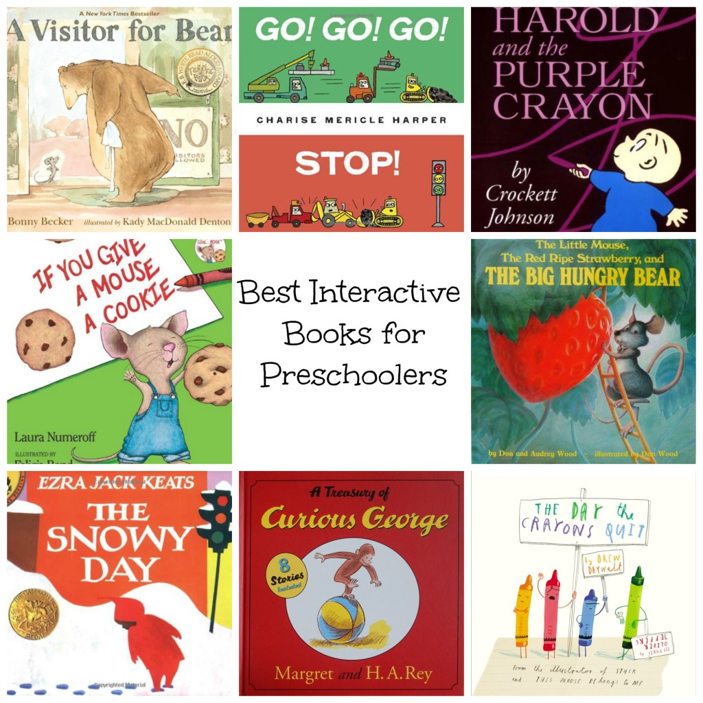 Best Interactive Books for Preschoolers Nurture and Thrive Blog