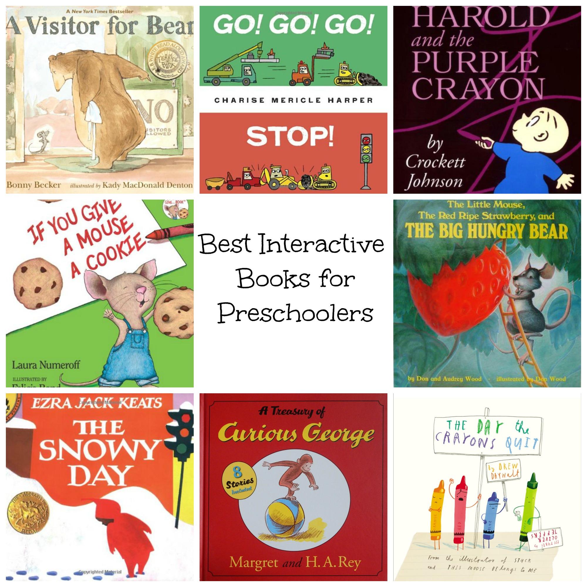 best books for preschoolers best interactive books for preschoolers nurture and thrive 100