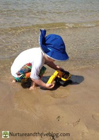 Staying Safe in the Sun by Nurtureandthriveblog.com
