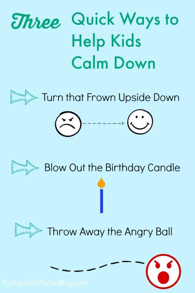 3 Quick tips from a child psychologist to help kids calm down