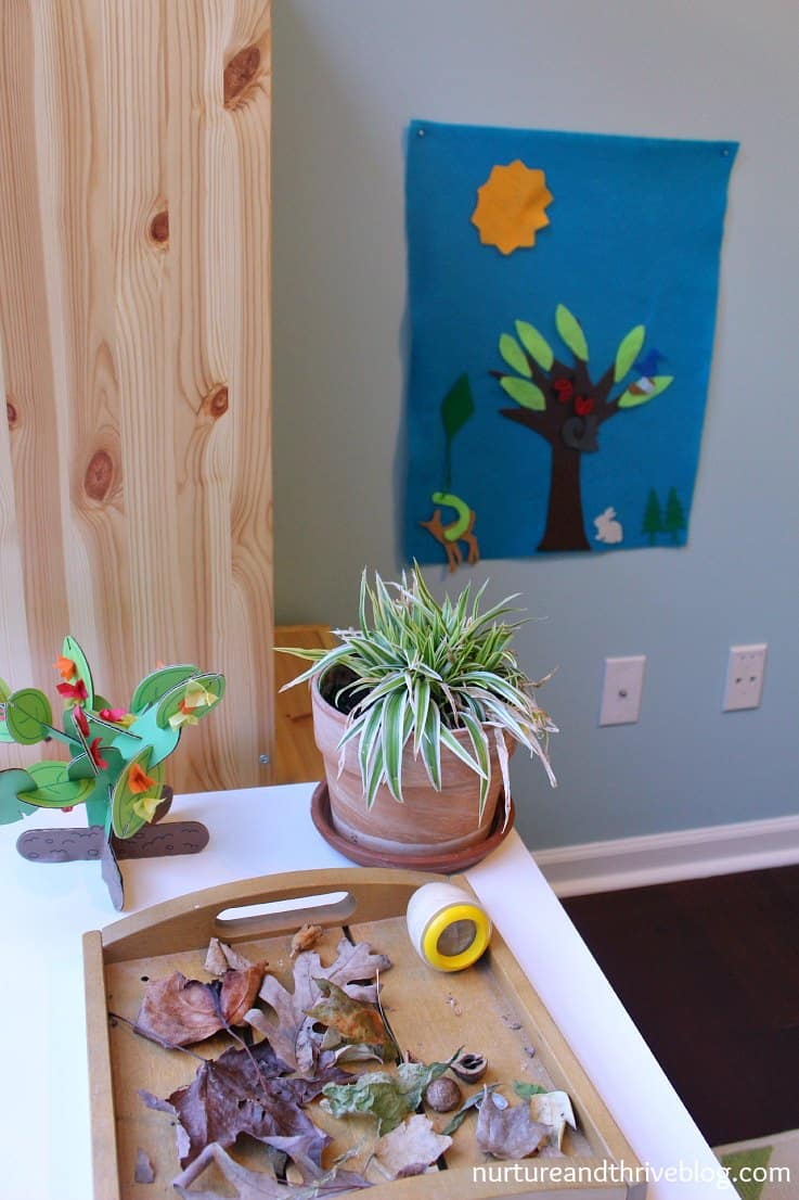 I love the idea of having a nature area in the playroom! Great tips on how to create a playroom that will grow with your child. Ikea Hacks!