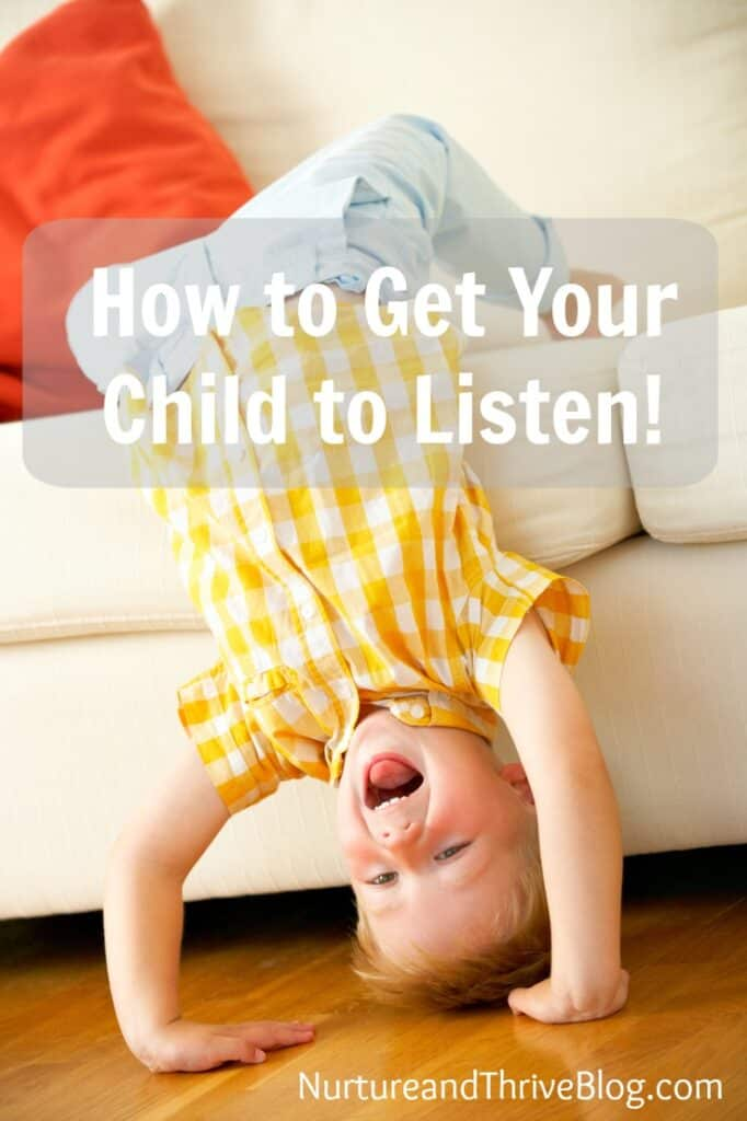 One fun tip from a child psychologist to get your child to listen and bring playfulness into those challenging times and end the power struggles. It really works!