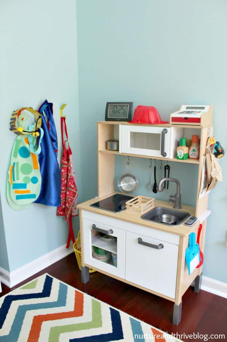 play kitchen how to create a playroom nurture and thrive