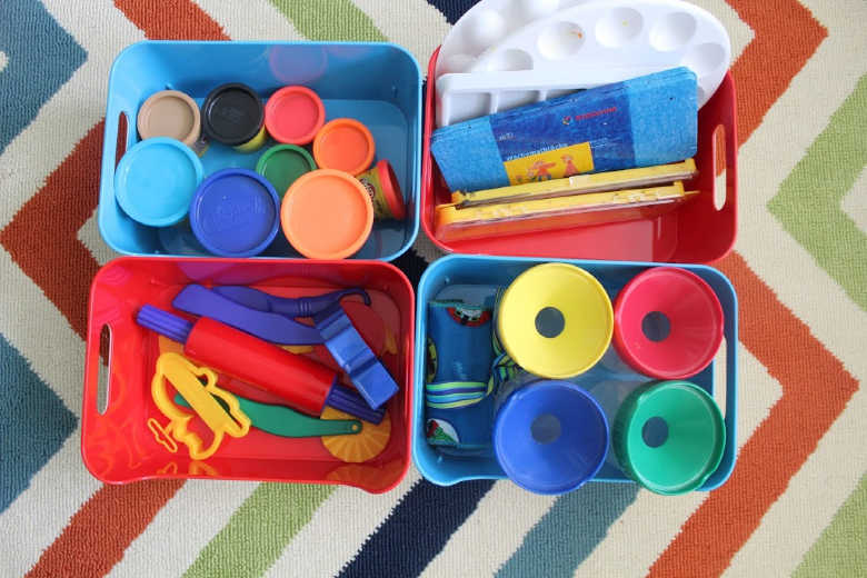 ideas for playroom organization