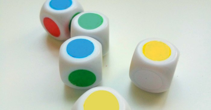 Color Dice Game - Feature