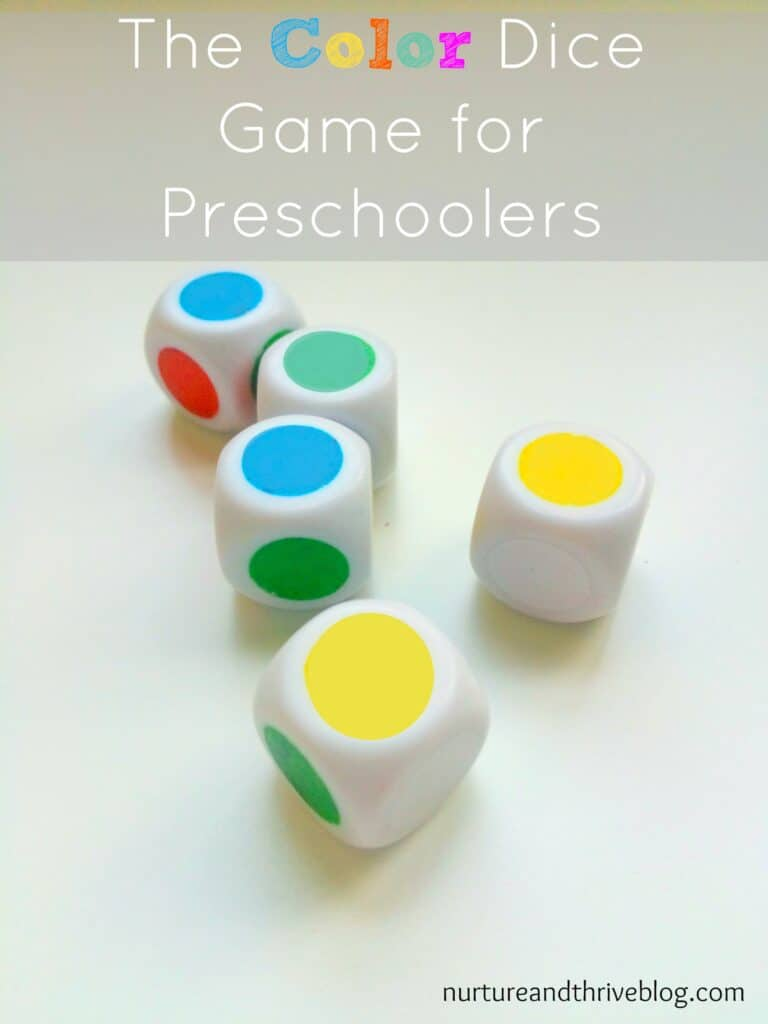 A fun game that has the benefit of hands on fun with basic math principles, great for preschoolers and older children too!