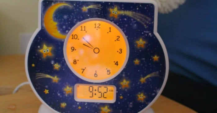 Does your toddler or preschooler wake up too early? Is your bedtime routine too long? A toddler clock can help, but which one? Click to read my review of three toddler clocks.
