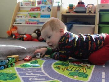 baby and toddler playroom