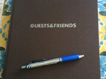 Why you should have a guest book