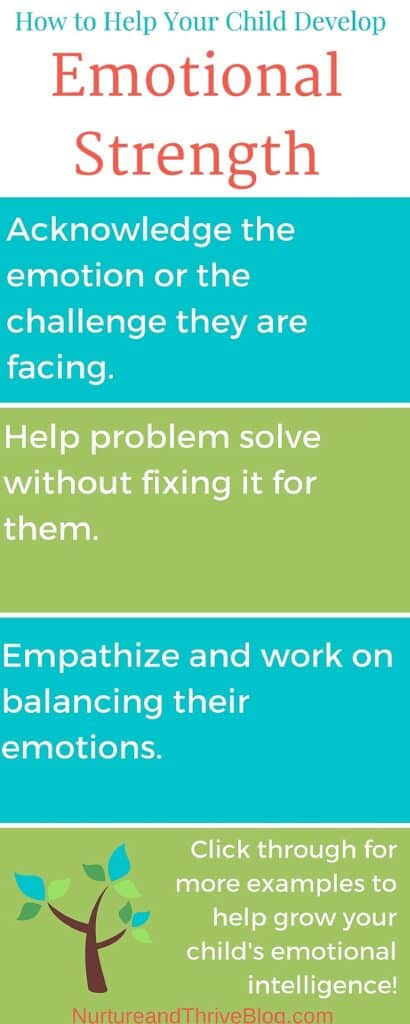 Help your child deal with frustration so they can persevere. How to help children deal with challenge and build emotional strength!