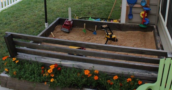 5 Step Bug-Resistant DIY Sandbox