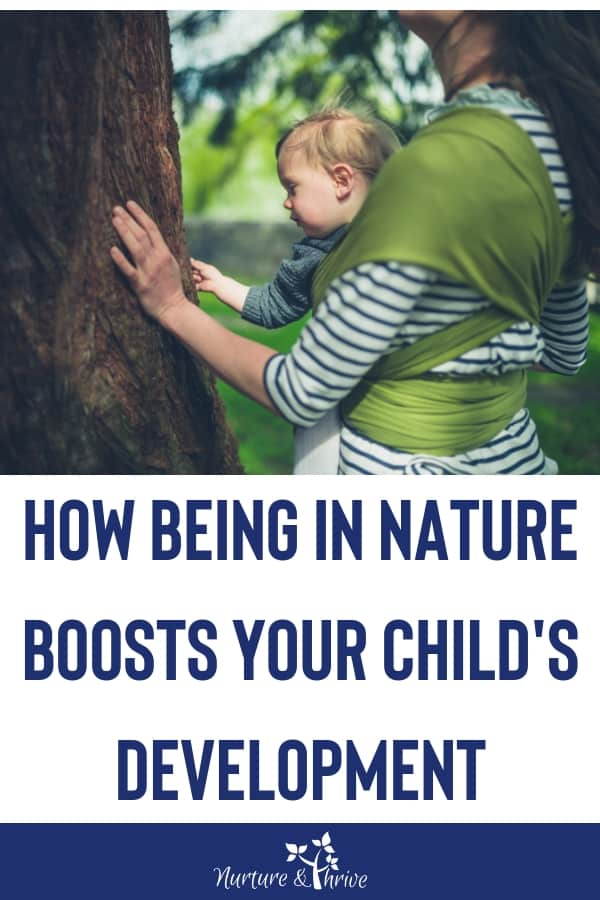 benefits of being in nature with kids
