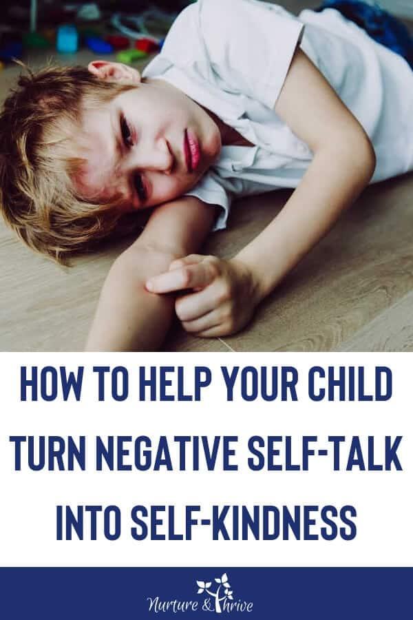 Negative Self-Talk in Kids
