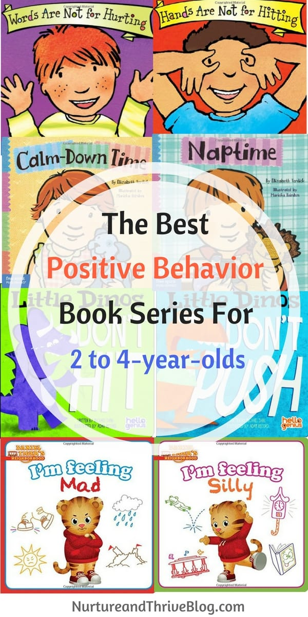 Positive behavior book series for 2 to 4 year olds for Bureau 13 book series
