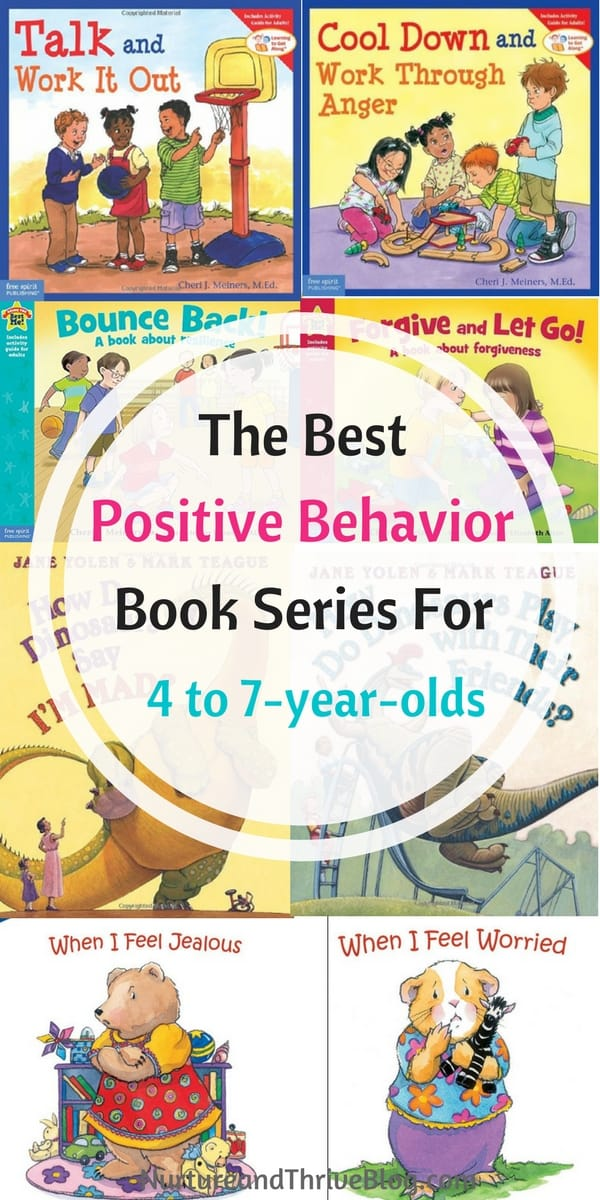 Positive behavior book series for 4 to 7 year olds for Bureau 13 book series