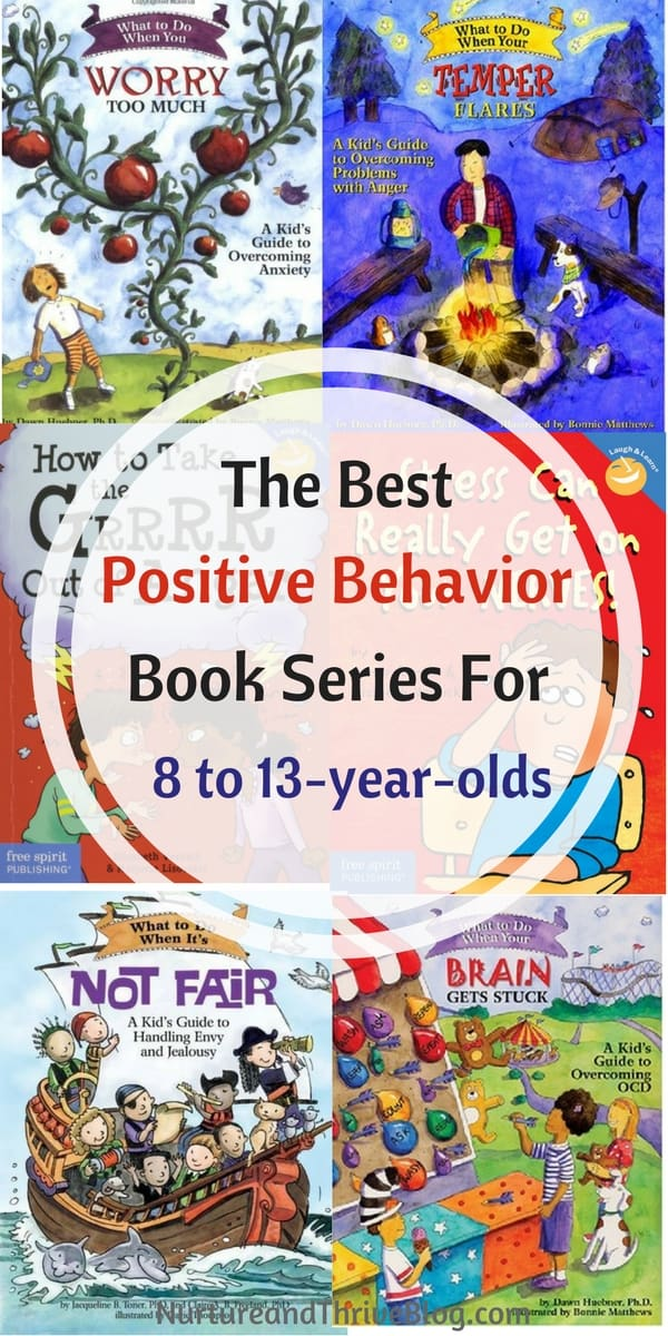 Need your child's behavior to change? Books are a great place to start. Positive Behavior Book Series for 8 to 13-year-olds. Great resources for parents from Ashley Soderlund Ph.D.