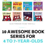 Positive Behavior Book Series for 4 to 7-year-olds