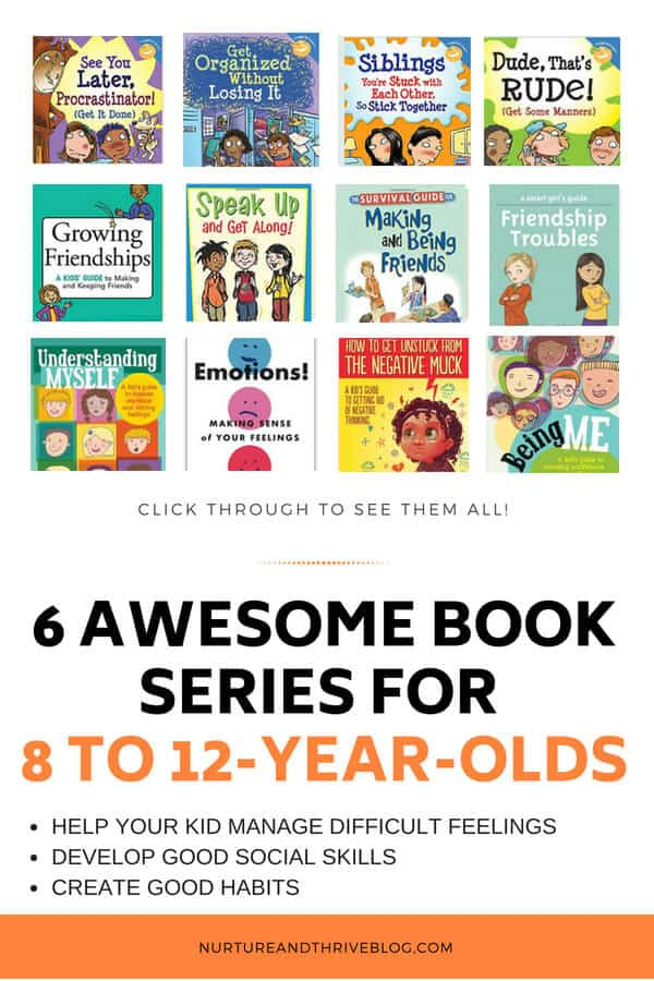 6 Awesome Book Series For 8 To 12 Year Olds