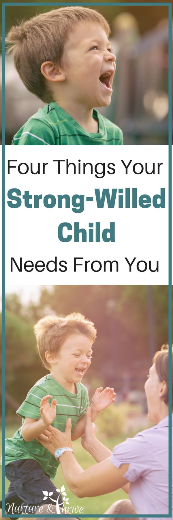 Parenting a strong-willed child is tough, but it also wonderful. This is a temperament style, just like shyness. These tips will help you to recognize their unique strengths and how to help them with their challenges. How to raise a strong-willed child without crushing their spirit. #parenting #strongwilledchild #temperament #positiveparenting #spiritedchild