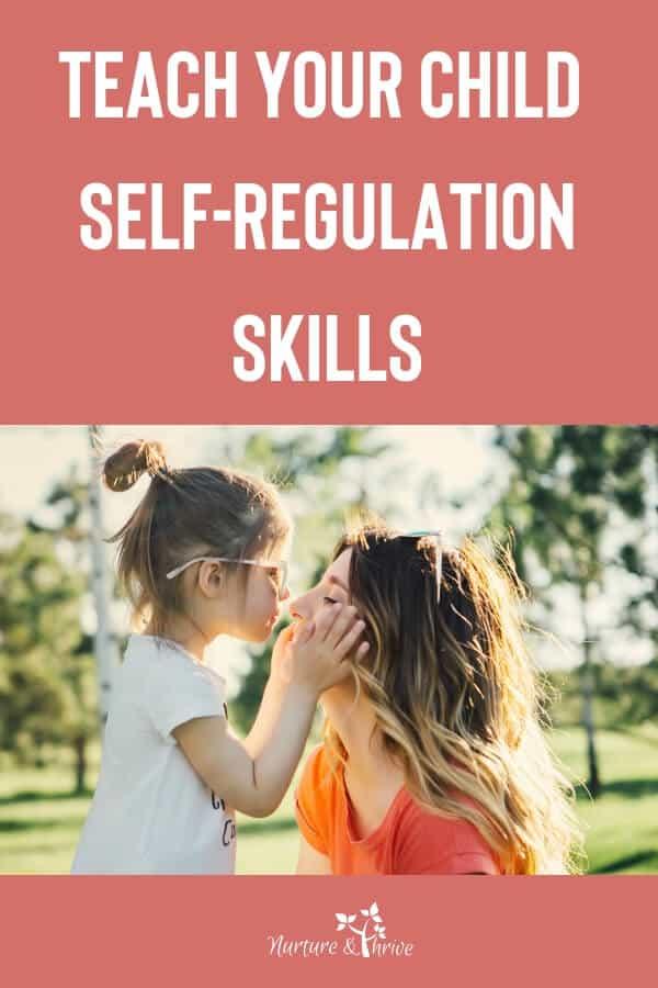 teach your child self-regulation skills