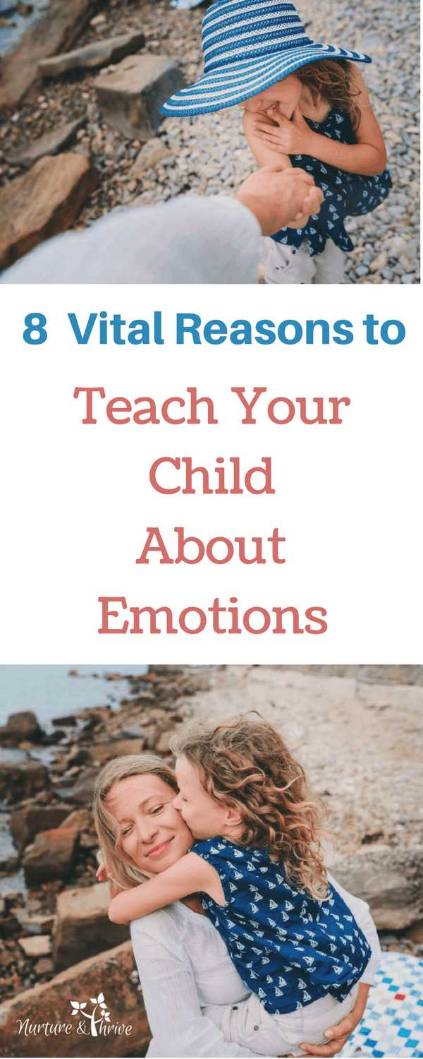 Give your child the gift of emotional health by teaching them to recognize, acknowledge, and work through emotions. #emotionalintelligence #emotionregulation #children #positiveparenting #emotions