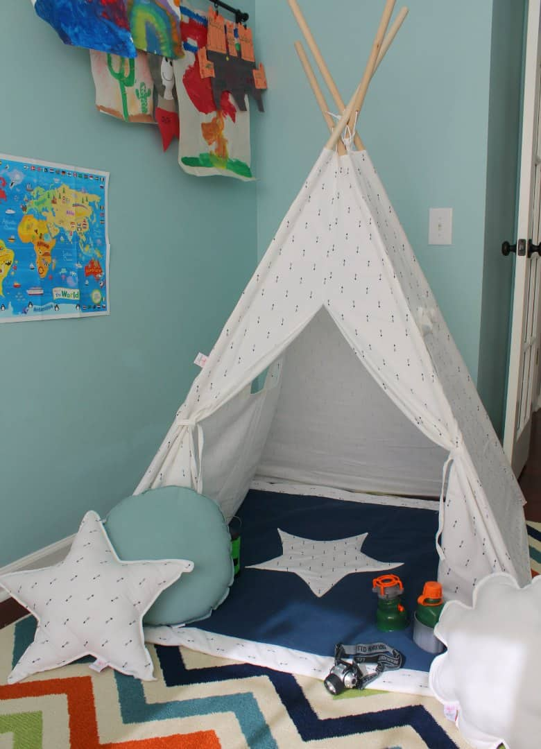 How to Create a Playroom Teepee