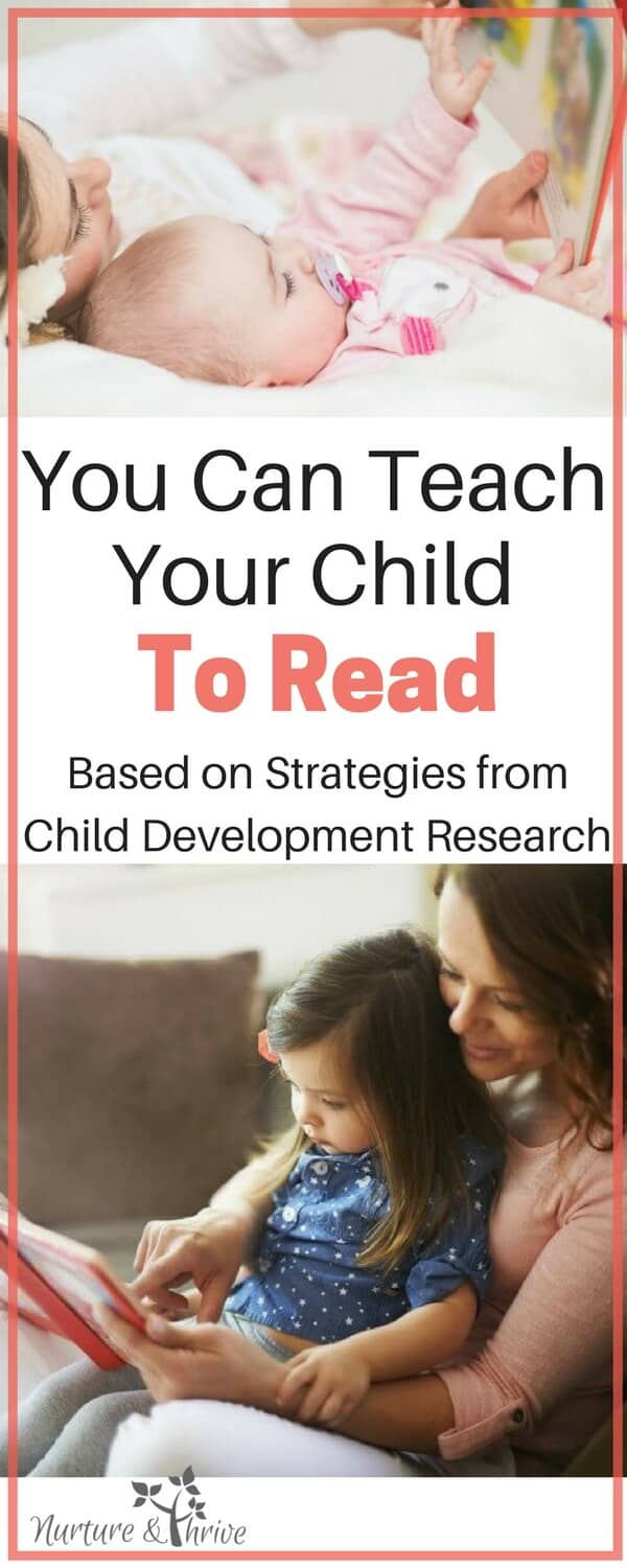 Easy to do read-aloud strategies that will help your child learn to read the natural and developmentally appropriate way. Make the most of your storytime! Tips from child development research. #teachyourchildtoread #teachyourchild #reading #childdevelopment #positiveparenting #cognitivedevelopment