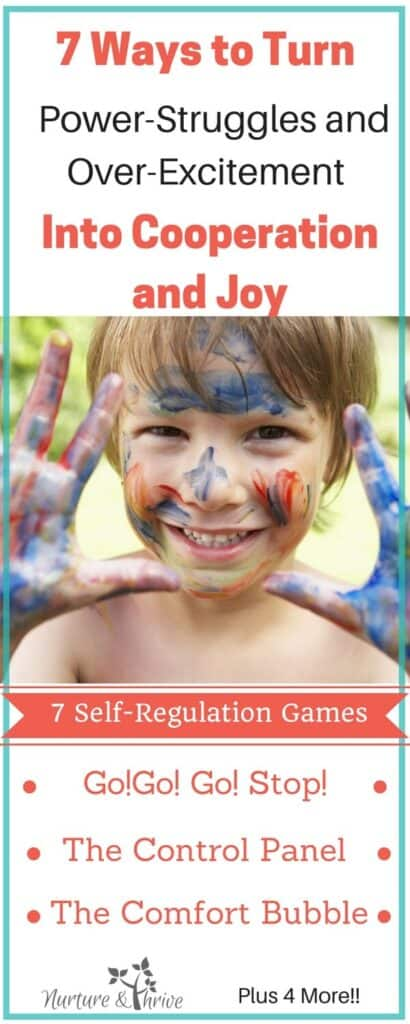 Impulse control games for kids