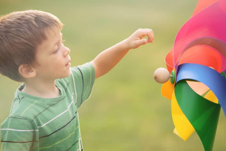 exuberant kids like to explore new things