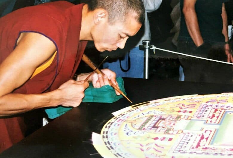 Tibetian Monks and Mindfulness