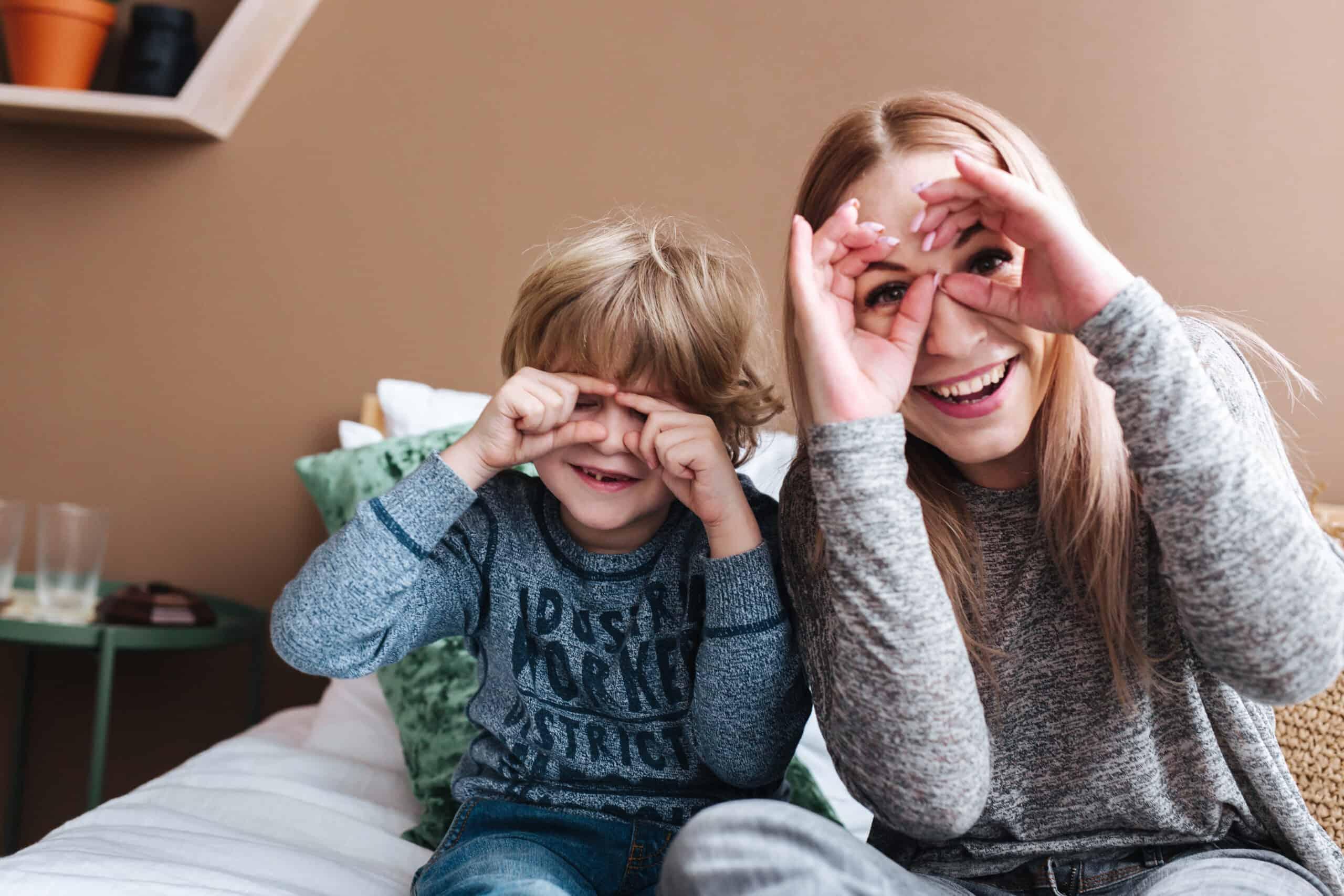 Playful parents raise happy children