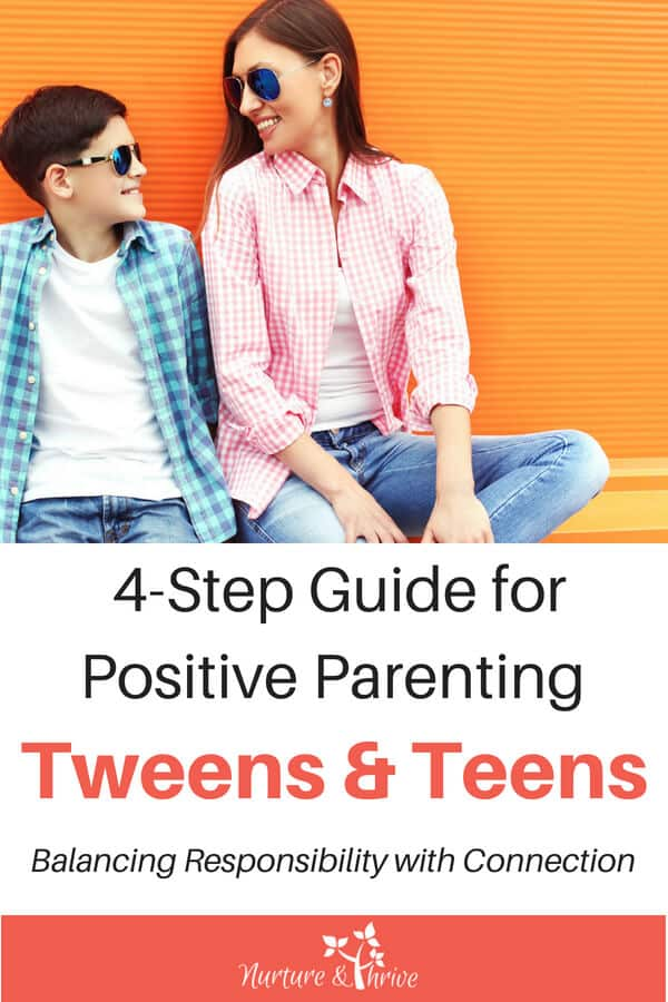 Guide for parenting tweens and teens