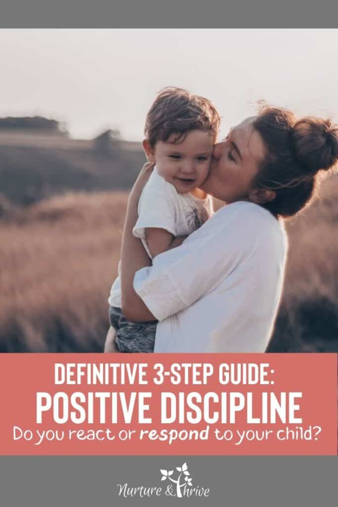 3 Steps positive parenting guide: A.C.T. method of positive parenting