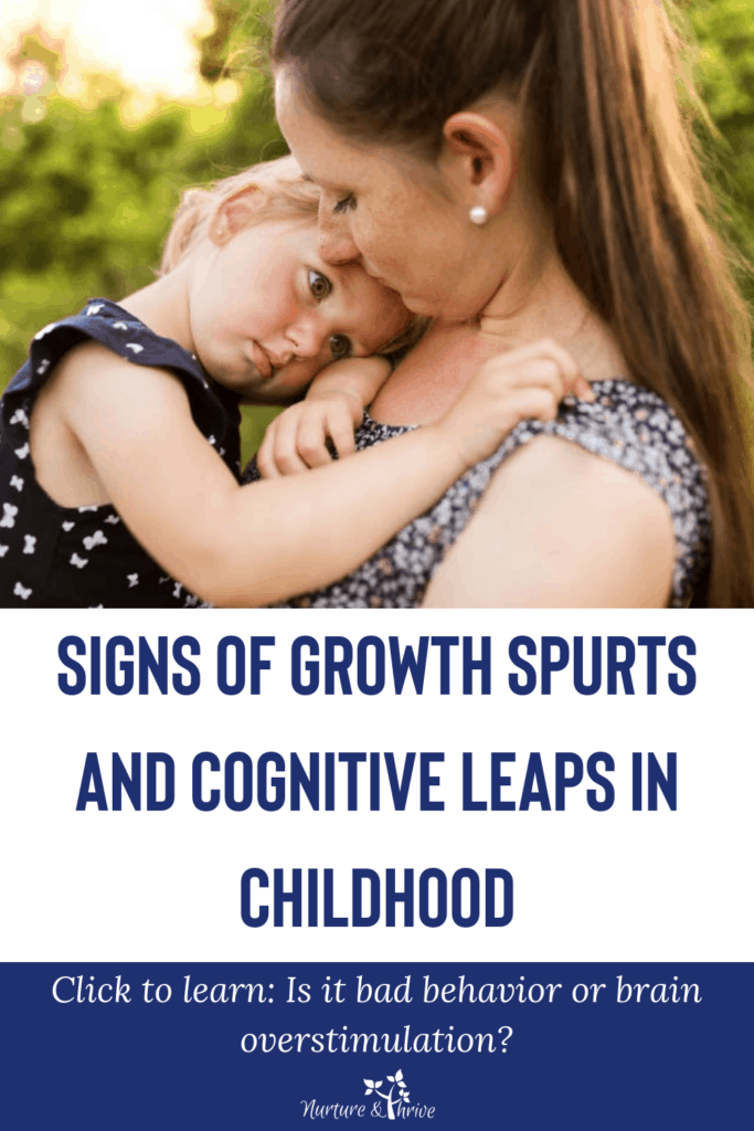 Signs of a growth spurt or a cognitive leap