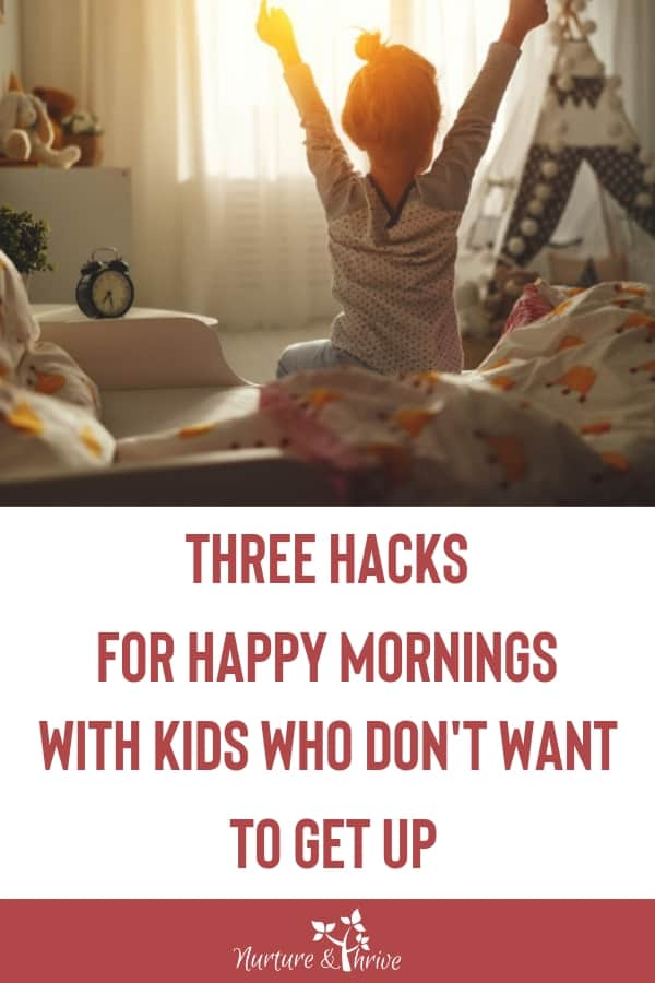 How to Help your Kid Wake up Happy