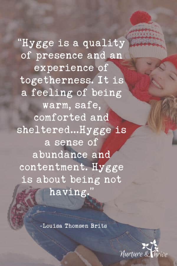 The meaning of Hygge at the holidays