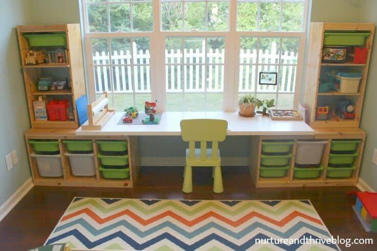 Playroom Desk Ideas