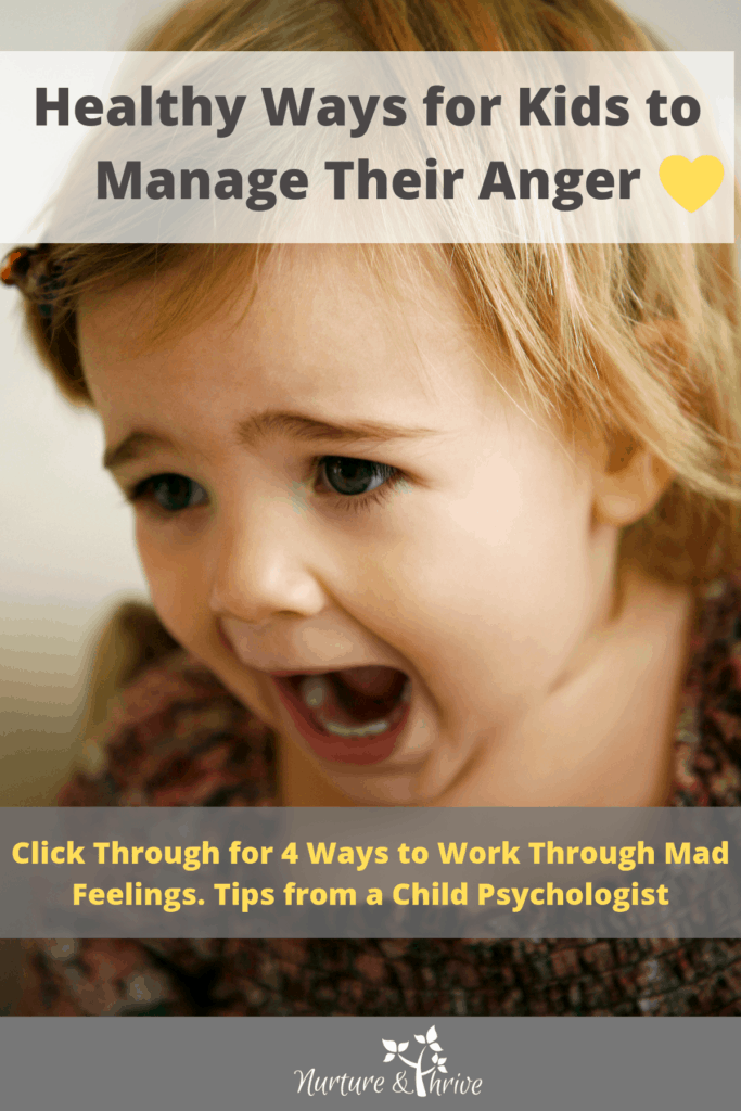 Anger Management for kids
