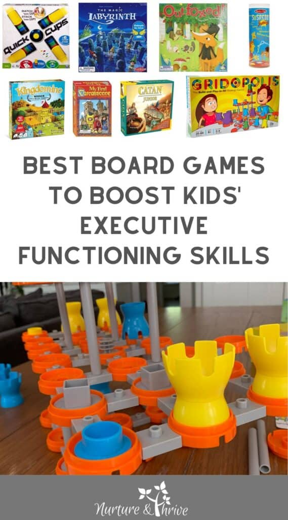 Best board games to boost kids executive functioning skills