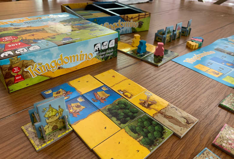 King Domino Family Strategy Board Game