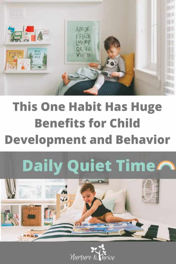 This One Habit Has Had a Huge Benefits for my Child: Daily Quiet Time