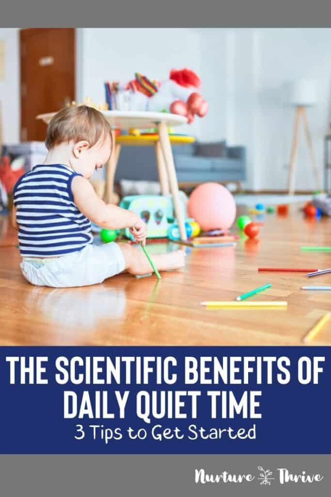 how to start quiet time with your kids
