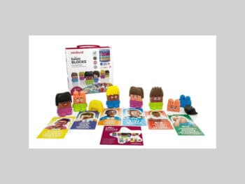 Miniland Educational - Emotiblocks Basic Emotions Toy for Kids