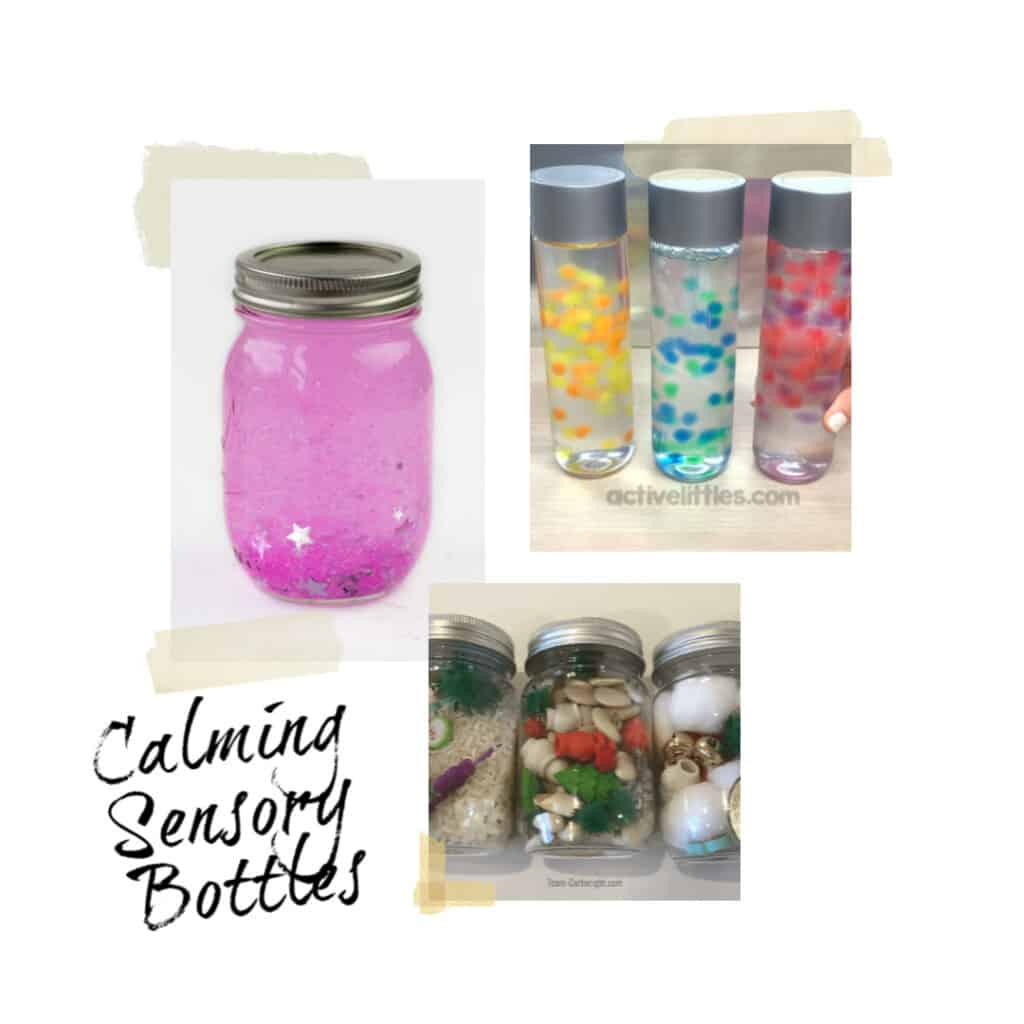 soothing sensory bottles for children