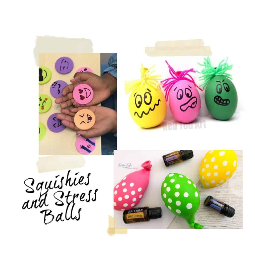 DIY sensory stress balls for kids