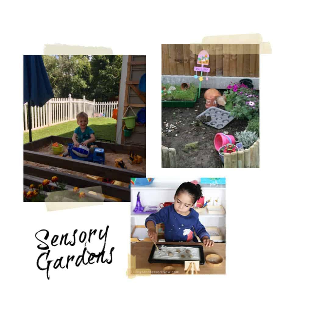 sensory gardens for kids
