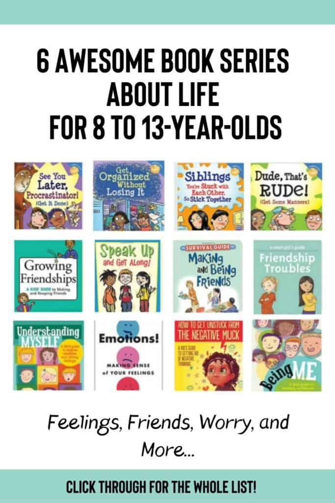 6 Awesome Book Series About Life for 8 to 13-year-olds