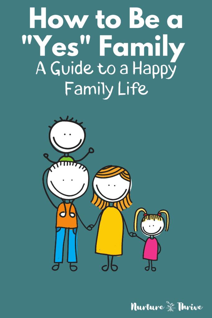 create a happy family life